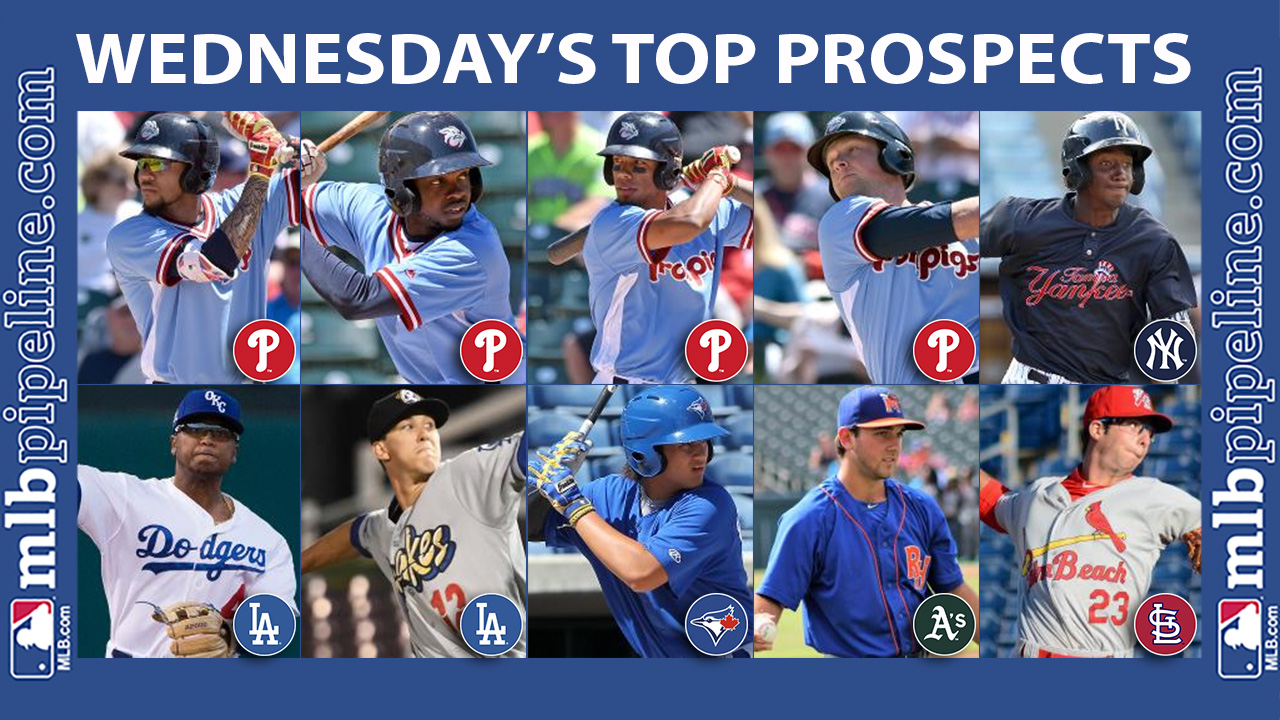Wednesday's best: Crawford, Quinn combine for seven hits