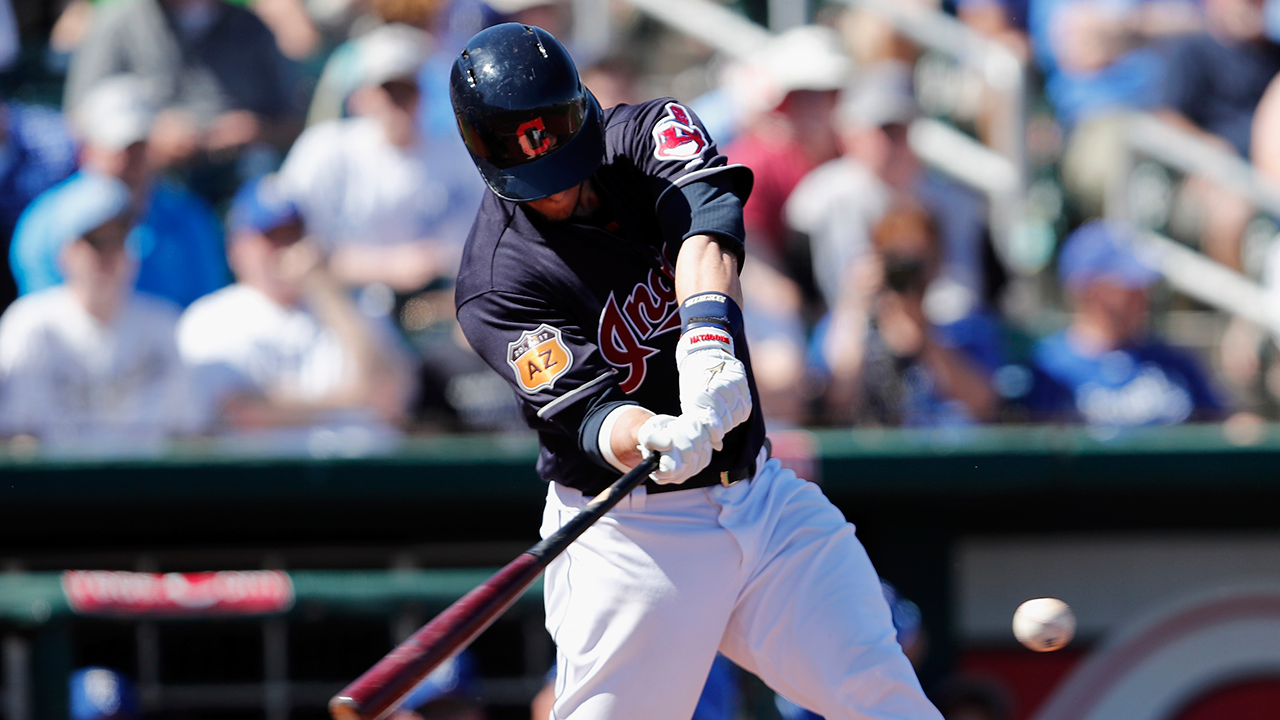 Gomes, Guyer lead Indians' hit parade vs. Texas